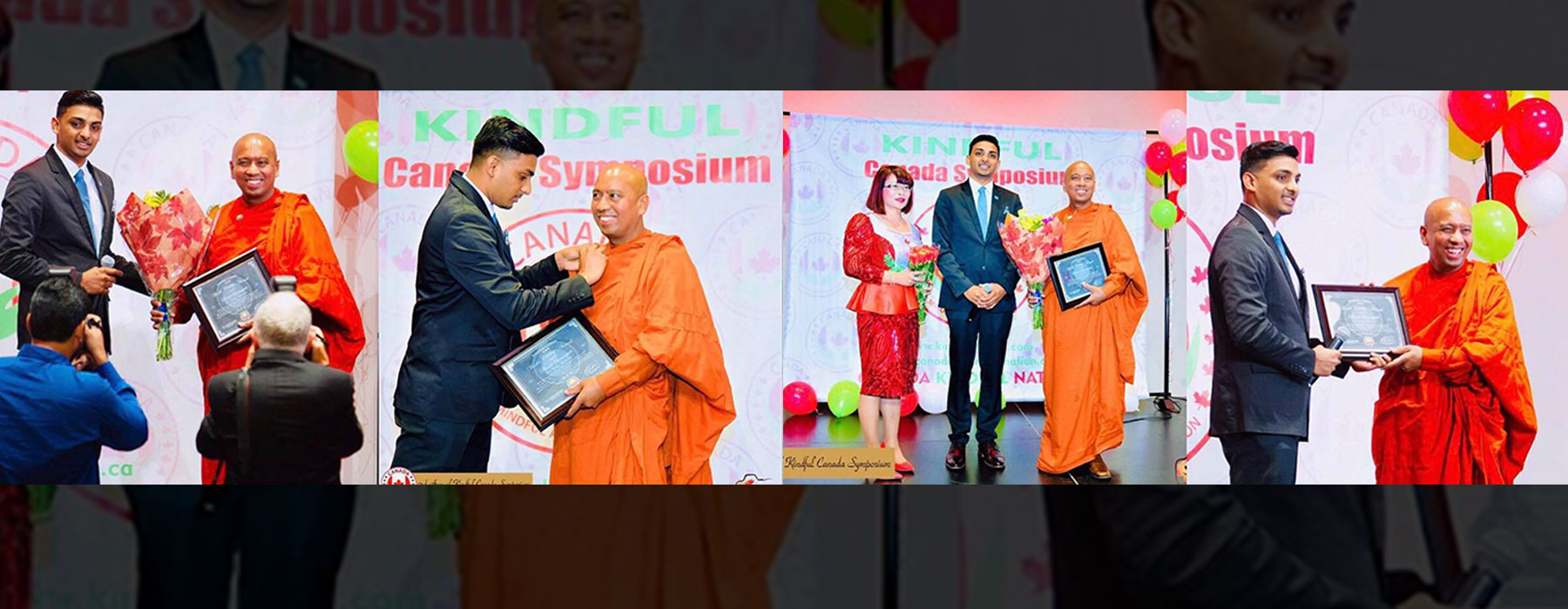 Bhante Saranapala, the founder & president of Canada: A Minsful and Kind Nation, has been honoured and appointed as the UN Civility Ambassador by the iChange Nation
