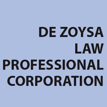 DE ZOYSA LAW PROFESSIONAL CORPORATION